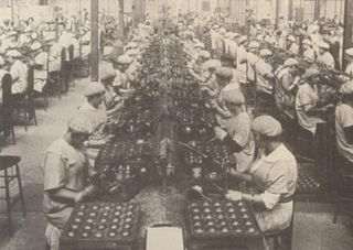 Women factory workers