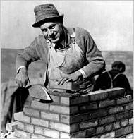 Bricklayer - Corbis