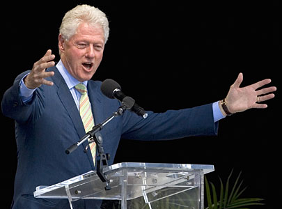 Bill Clinton at CNE