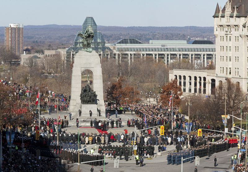 Remembrance Day, Ottawa, Nov. 11 09 CP