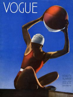 Steichen Vogue cover 1932