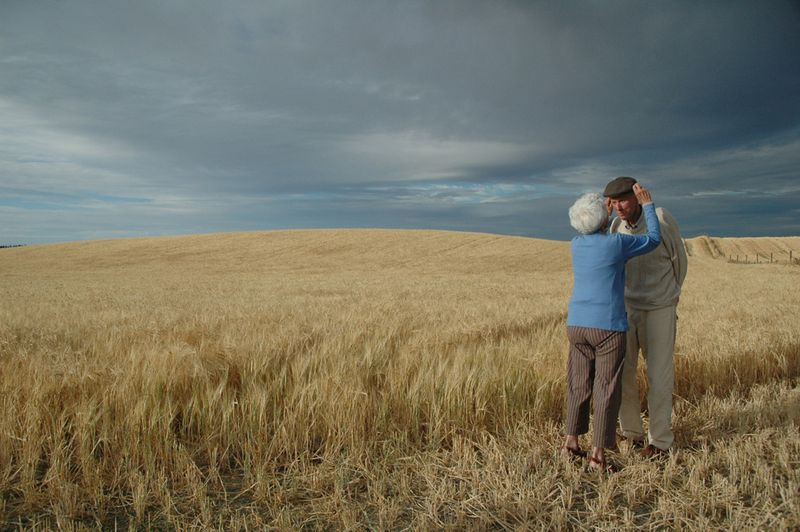 Gemma Collier's photo of her late father's last barley harvest, New Zealand, National Geographic photo contest