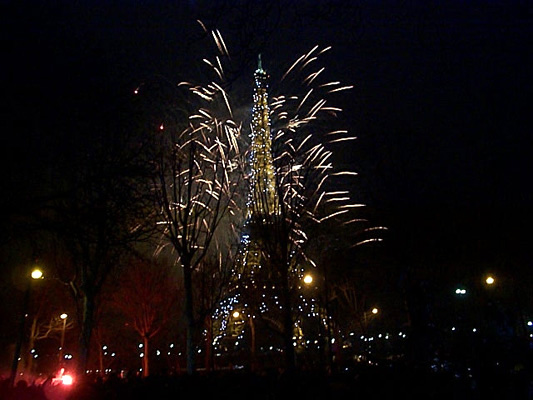 Fireworks Paris