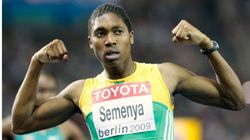 Caster Semenya, Aug 19 wins gold womens 800m World Athletics Championships, Berlin, AP