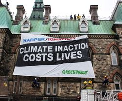 Greenpeace Ottawa protest, Fred Chartrand, CP