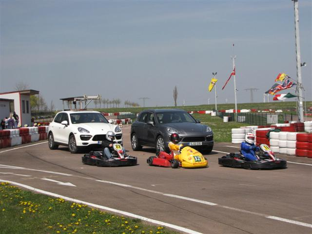 Karts and Cayennes