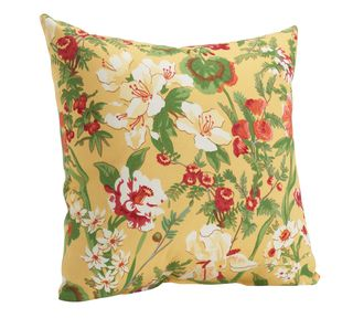 20471215_Backyard Floral Outdoor Pillow_yellow