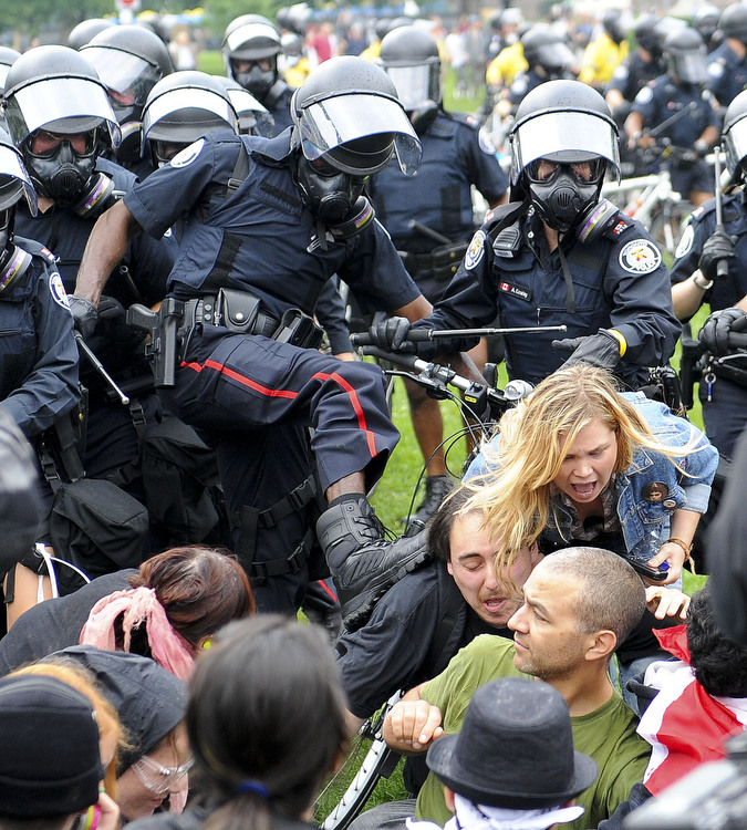 Toronto Star photo G20 June 26-2010