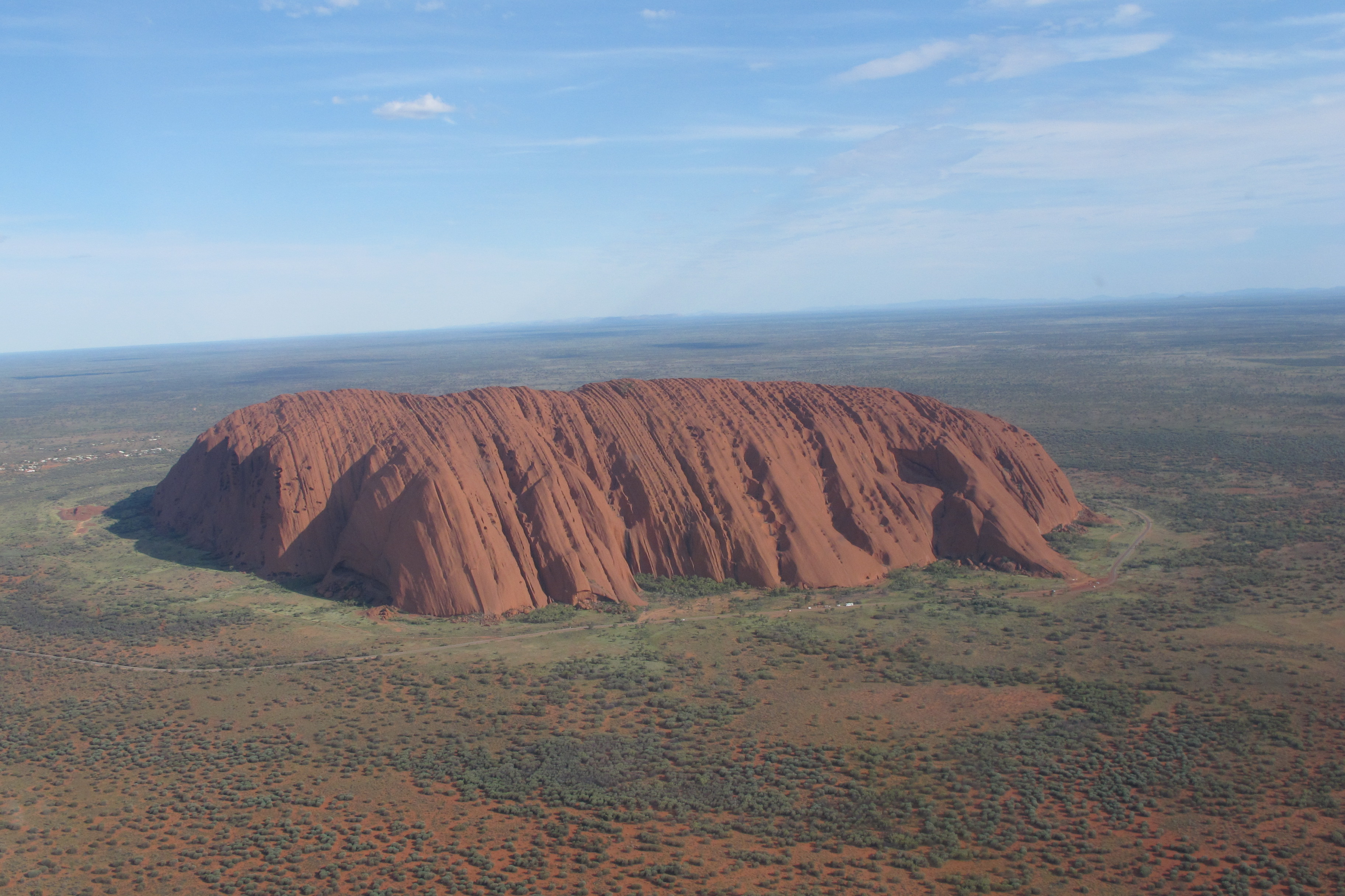 Uluruayers rock in australia plus a short visit in glorious sydney longitude 131 guests on a warm beautiful night in the bush near the hotel publicscrutiny Images