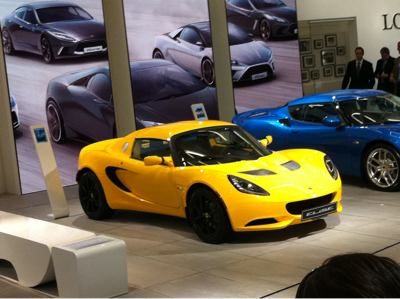 Los Angeles Auto Show - Lotus
