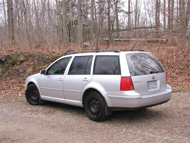 Jetta Wagon with winter tires