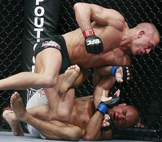 Bj penn georges st pierre