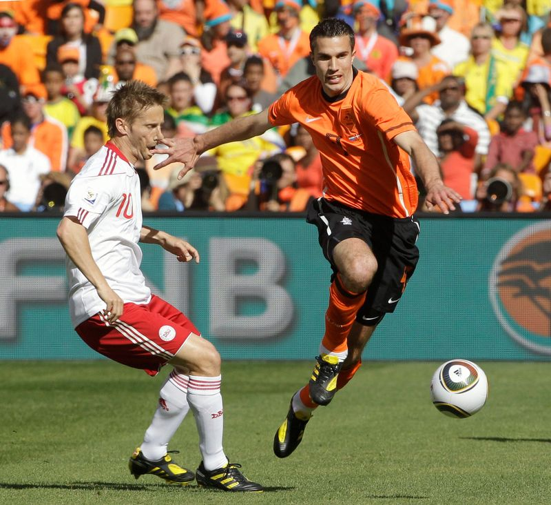 South Africa Soccer WCup Netherlands Denmark
