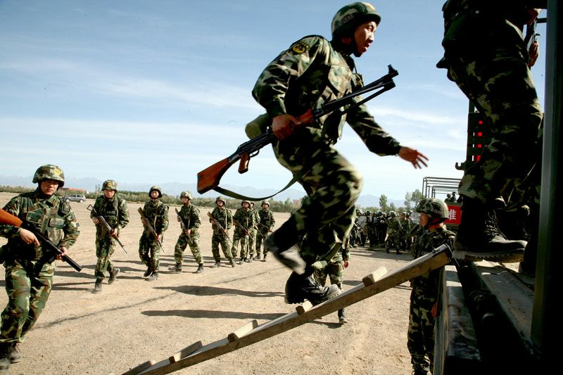 CHINA-UNREST-POLITICS-XINJIANG-SECURITY