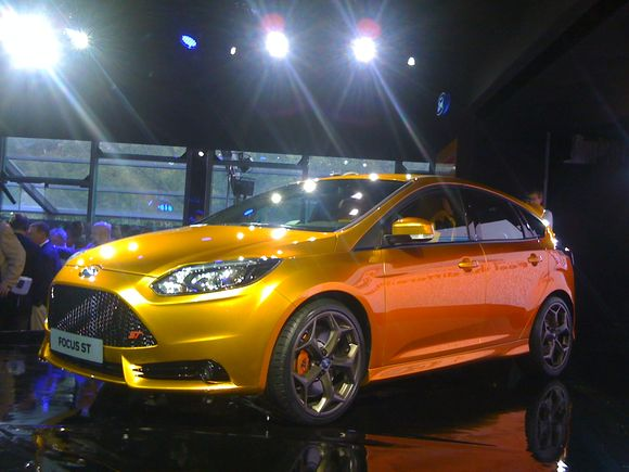 World Premiere of the Ford Focus ST