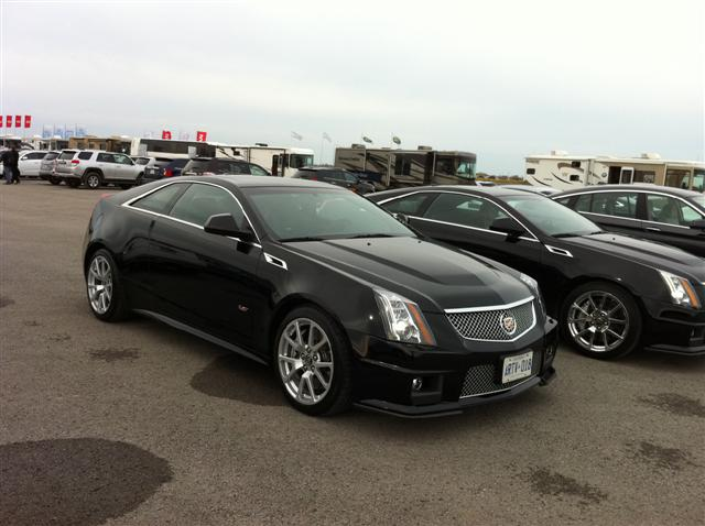 Cadillac CTS-V Coupe (Small)