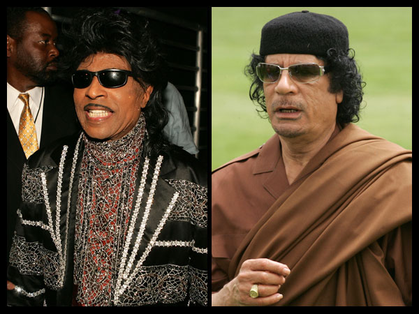 Gadhafi and Little Richard