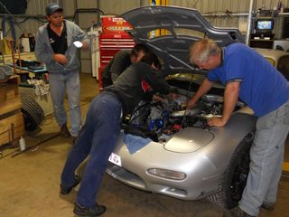 Turbo experts at work