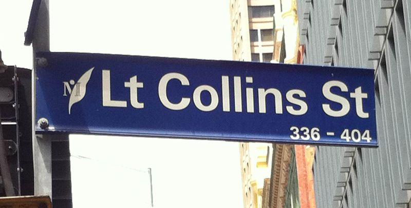 Little Colllins Street