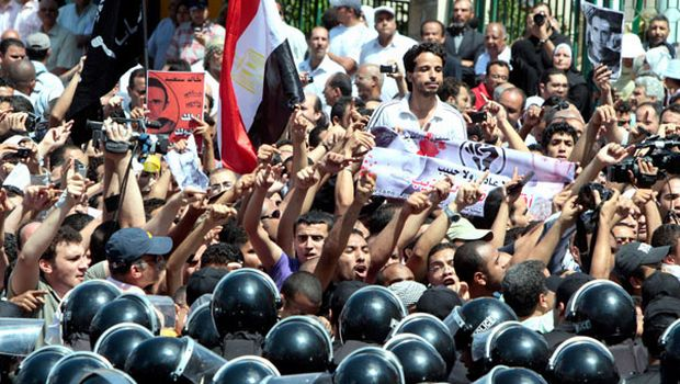 Egypt protest AP