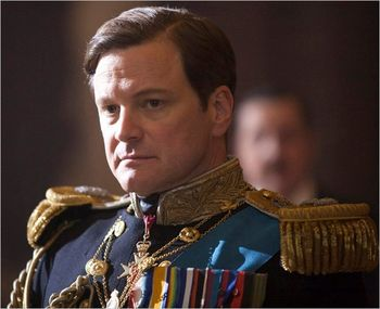 Colin Firth as George VI in The King's Speech Weinstein Co. handout