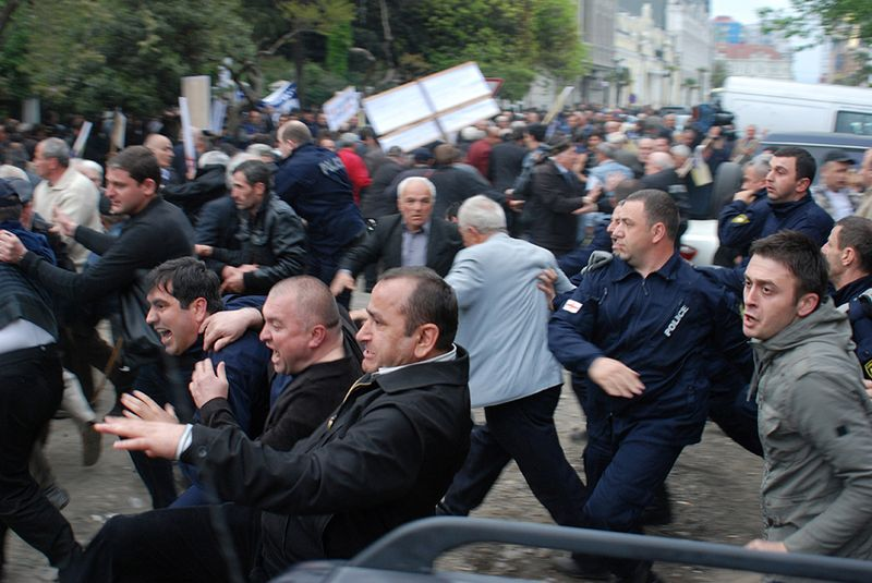 GEORGIA-POLITICS-OPPOSITION-PROTEST