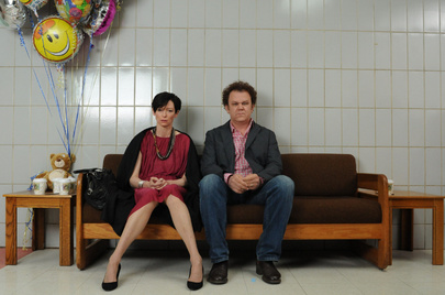 Tilda Swinton and John C. Reilly in We Need to Talk About Kevin