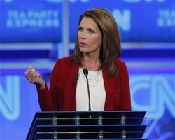Bachmann at Sept 12 debate Reuters