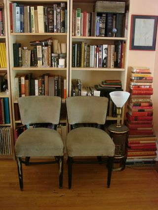 Chairs from garbage before