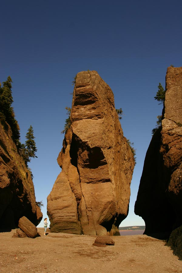 Bay of Fundy rock structure