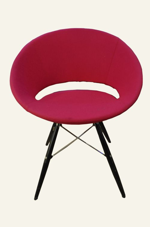 Crescent Wood Chair from Homsav