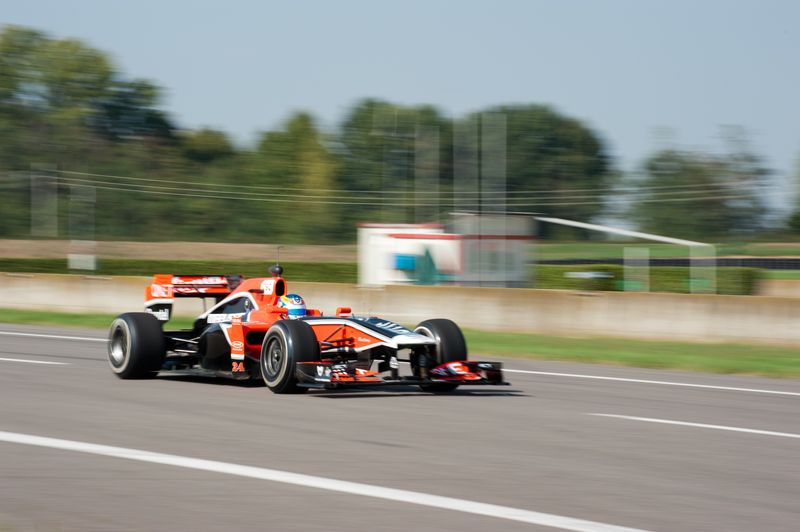 Wickens at speed