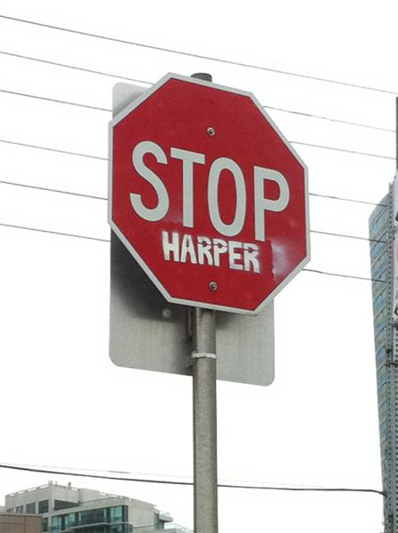 Stop Harper (Medium)