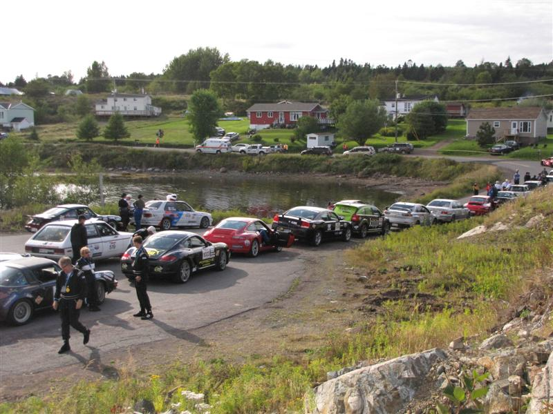 Targa group shot -