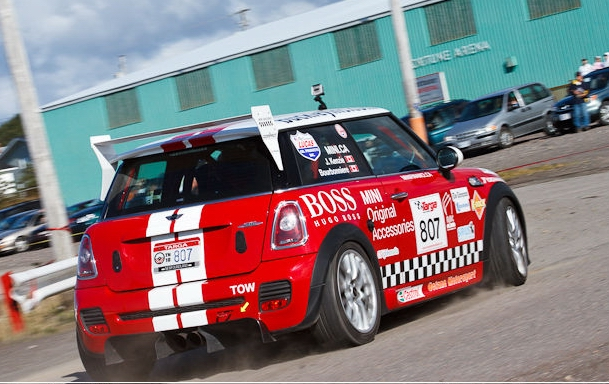 MINI at speed in Gander