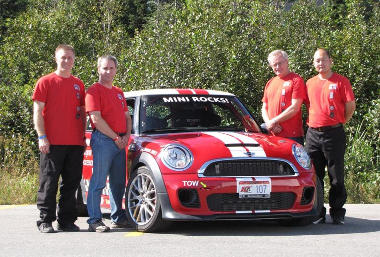 Targa 2011 team