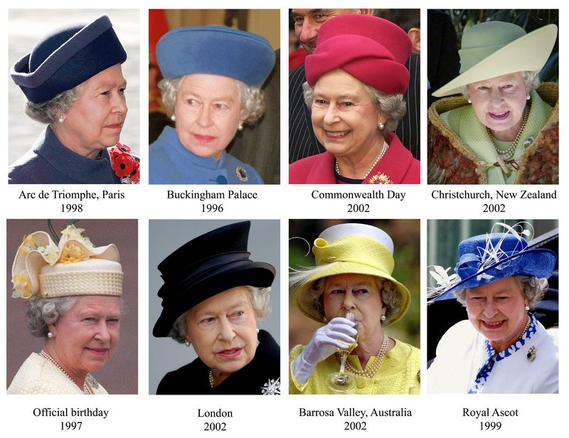 Queen hats multi