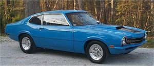 Ford Maverick Grabber Blue