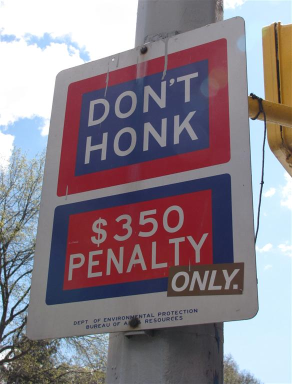 New York honk