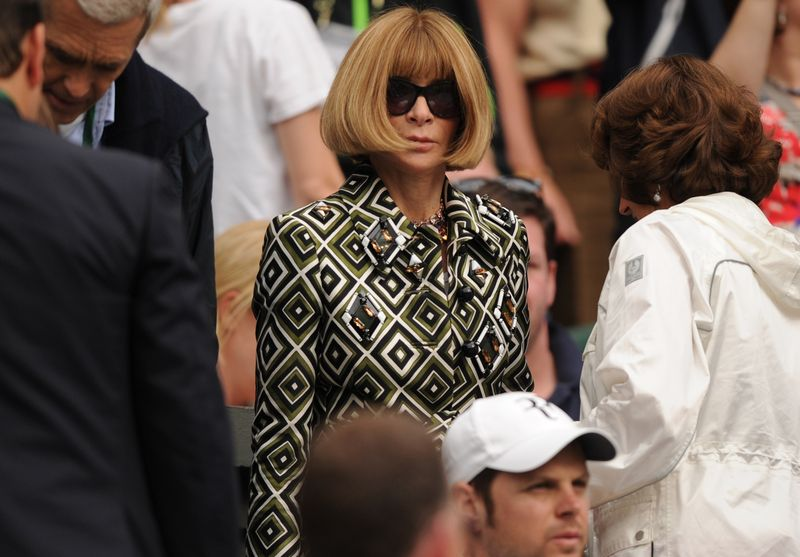 Editor of American Vogue, Anna Wintour