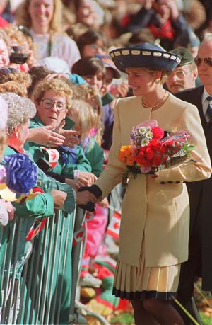 Princess diana 1981 oct. canada