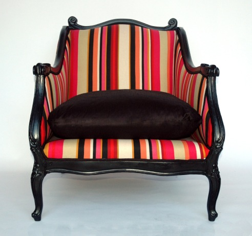 9 Reupholstyered chair from Restyle