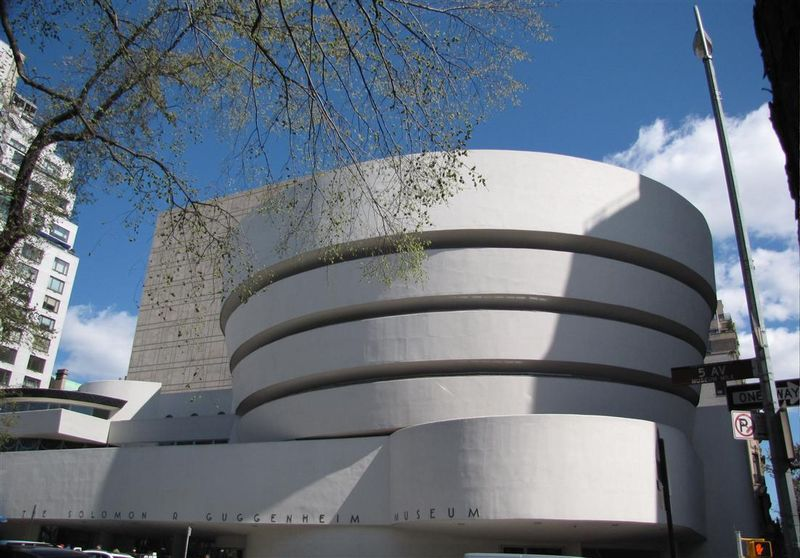 New York Guggenheim alone