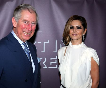 Prince Charles and Cheryl Cole