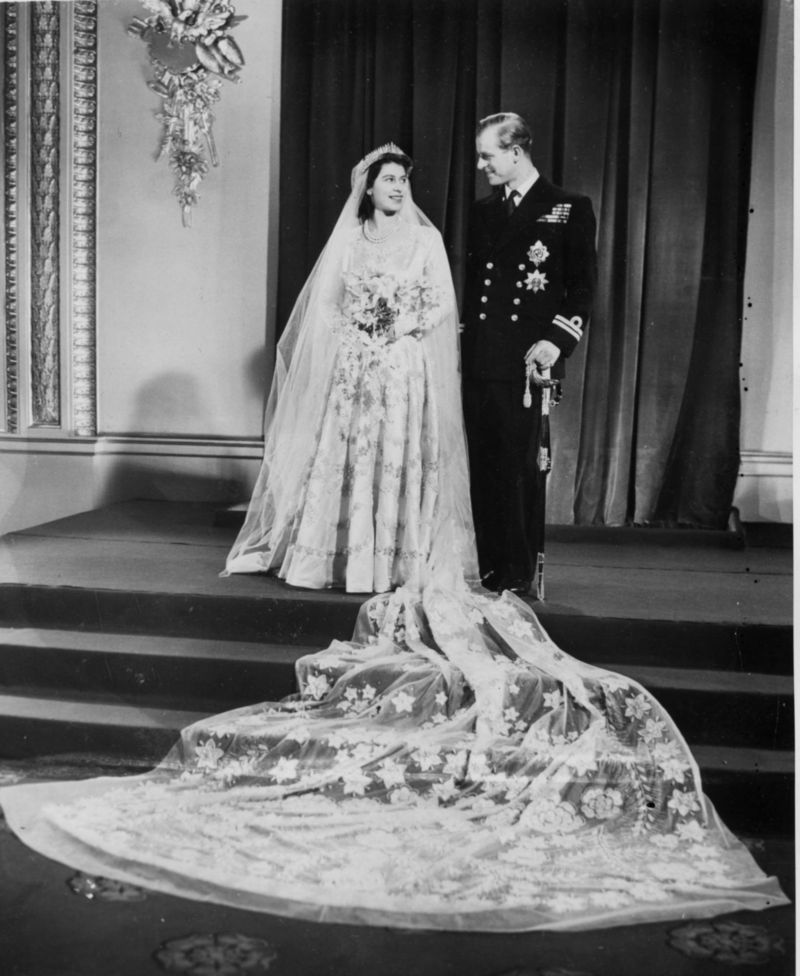 Prince Philip wed