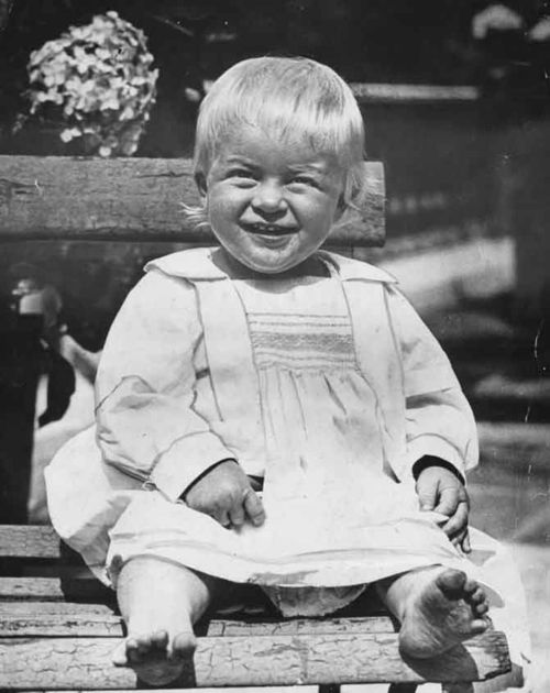 Prince Philip as baby