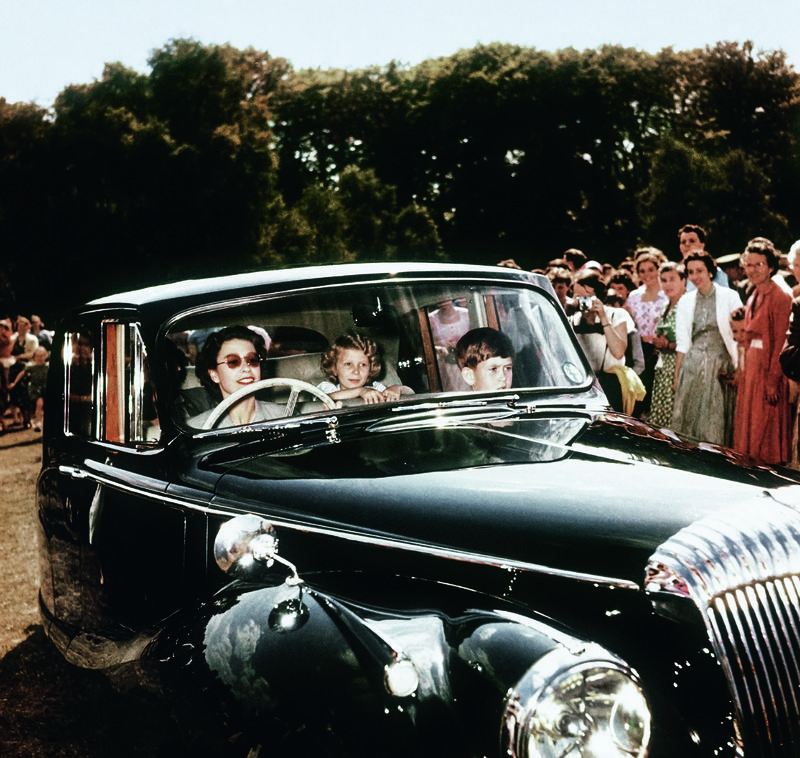 Majesty kids daimler 1957 windsor