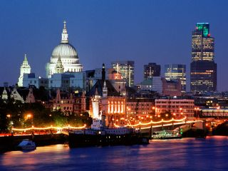 London-skyline-england