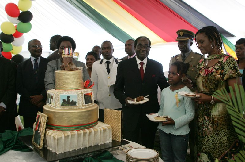 Mugabe birthday pix