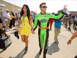 James Hinchcliffe and lady